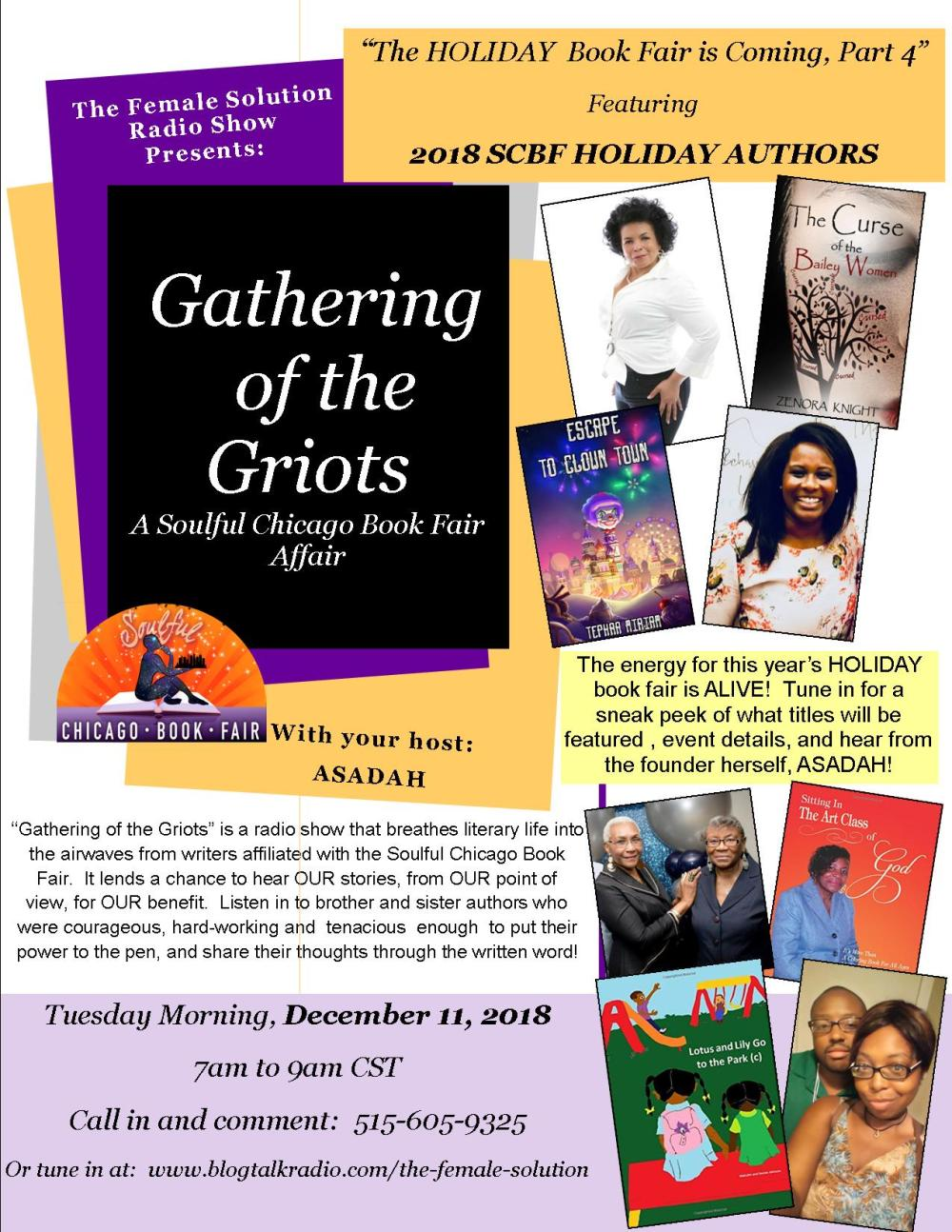2018 GATHERING OF THE GRIOTS HOLIDAY FLYER - PART 4